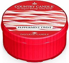 "Parfüm, Parfüméria, kozmetikum Teamécses ""Borsmenta"" - Country Candle Peppermint Twist Daylight"