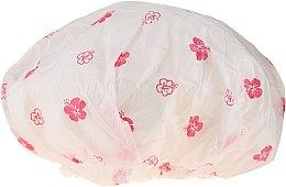 Parfüm, Parfüméria, kozmetikum Fürdősapka,, 9298, fehér és rózsaszín virágok - Donegal Shower Cap