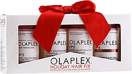Parfüm, Parfüméria, kozmetikum Szett - Olaplex Holiday Hair Fix (cond/100ml + shmp/100ml + h/cr/100ml + ser/100ml)
