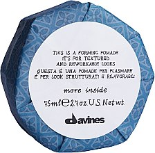 Parfüm, Parfüméria, kozmetikum Modellező pomádé - Davines More Inside This is a Forming Pomade