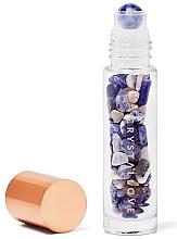 Parfüm, Parfüméria, kozmetikum Kristályüveg szodalitkristályokkal, 10 ml - Crystallove