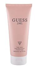 Parfüm, Parfüméria, kozmetikum Guess 1981 - Testápoló lotion