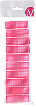 Parfüm, Parfüméria, kozmetikum Tépőzáras hajcsavaró, 499600, rózsaszín - Inter-Vion