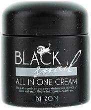 Parfüm, Parfüméria, kozmetikum Krém fekete csiganyállal - Mizon Black Snail All In One Cream