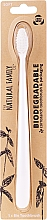 Parfüm, Parfüméria, kozmetikum Biológiai úton lebomló fogkefe, fehér - The Natural Family Co Biodegradable Toothbrush
