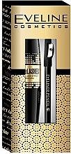 Parfüm, Parfüméria, kozmetikum Készlet - Eveline Cosmetics (mascara/10ml + pencil/1.2g)