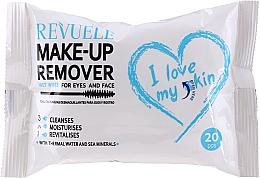 Parfüm, Parfüméria, kozmetikum Smintisztító törlőkendő termál vízzel - Revuele Make-Up Remover I Love My Skin Wet Wipes