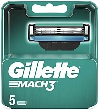 Parfüm, Parfüméria, kozmetikum Borotva pótfej, 5 db. - Gillette Mach3