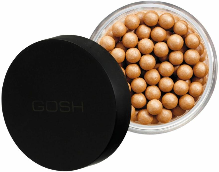 Kompakt gyöngypúder - Gosh Pearl Glow — fotó N1