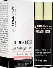 Parfüm, Parfüméria, kozmetikum Ránctalanító szérum szemkörnyékre - Arganicare Collagen Boost Anti Wrinkle Eye Serum
