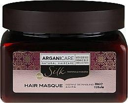 Parfüm, Parfüméria, kozmetikum Hajmaszk selyemfehérjékkel - Arganicare Silk Hair Masque