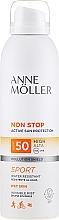 Parfüm, Parfüméria, kozmetikum Napvédő spray - Anne Moller Non Stop Active Sun Invisible Mist SPF50