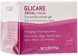 Parfüm, Parfüméria, kozmetikum Szem- és ajak kontúr zselé - SesDerma Laboratories Glycare Eye and Lip Contour Gel