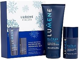Parfüm, Parfüméria, kozmetikum Szett - Lumene Men Raikas Refreshing Morning Set (gel/shm/200ml + deo/70g)