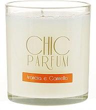 Parfüm, Parfüméria, kozmetikum Illatosított gyertya - Chic Parfum Arancia E Cannella Candle