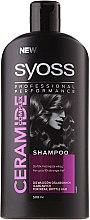 Parfüm, Parfüméria, kozmetikum Erősítő sampon gyenge és töredezett hajra - Syoss Ceramide Complex Shampoo For Weak Brittle Hair