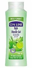 Parfüm, Parfüméria, kozmetikum Fürdő- és tusfürdő hab - On Line Freshness Bath & Shower Gel