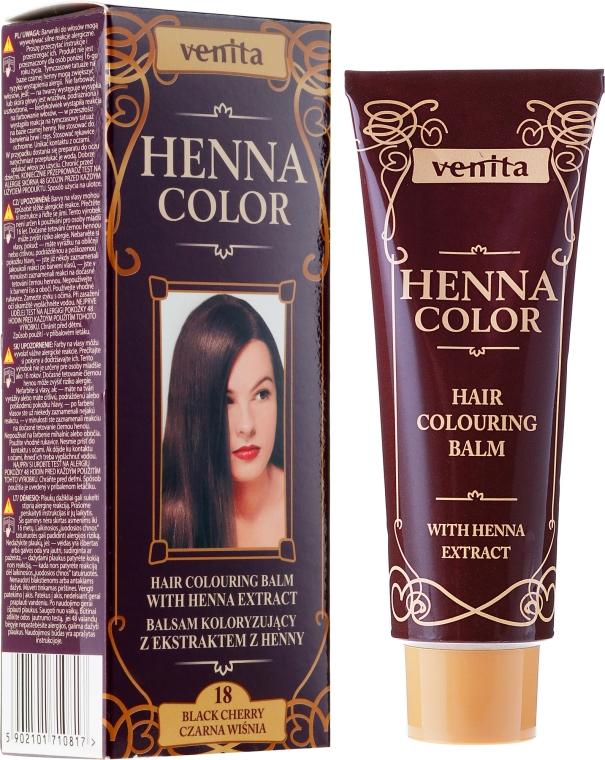 Hajbalzsam henna kivonattal - Venita Henna Color