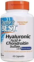Parfüm, Parfüméria, kozmetikum Hialuronsav chondroitinnel és kollagénnel (étrendkiegészítő) - Doctor's Best Hyaluronic Acid with Chondroitin Sulfate Capsules