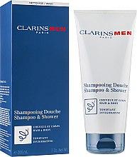 Parfüm, Parfüméria, kozmetikum Sampon hajra és testre, tonizáló hatással - Clarins Men Shampoo & Shower