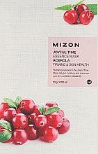 Parfüm, Parfüméria, kozmetikum Szövetmaszk - Mizon Joyful Time Essence Mask Acerola