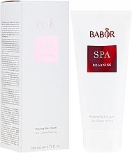 "Parfüm, Parfüméria, kozmetikum Peeling gél-krém ""Relax"" - Babor Relaxing Peeling Gel-Creme"