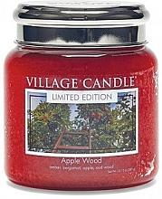 """Parfüm, Parfüméria, kozmetikum Illatgyertya pohárban """"Almafa"""" - Village Candle Apple Wood"""