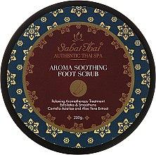 Parfüm, Parfüméria, kozmetikum Lábápoló bőrradír centella és aloe vera kivonattal - Sabai Thai Jasmine Aroma Soothing Foot Scrub
