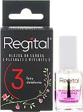 Parfüm, Parfüméria, kozmetikum Háromfázisú olaj körömágyra - Regital Three-phase Cuticle And Nail Oil