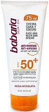 Parfüm, Parfüméria, kozmetikum Napvédő krém arcra és nyakra - Babaria Face and Neck Sun Cream Spf 50