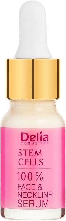Intenzív ránctalanító arc és nyakszérum őssejttel - Delia Face Care Stem Sells Face Neckline Intensive Serum