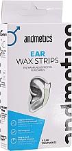 Parfüm, Parfüméria, kozmetikum Szőrtelenítő viasz fülre - Andmetics Ear Wax Strips Men