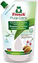 """Parfüm, Parfüméria, kozmetikum Folyékony szappan """"Mandula tej"""" - Frosch Pure Care Liquid Soap (utántöltő)"""