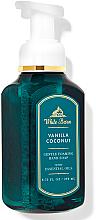 "Parfüm, Parfüméria, kozmetikum Szappan-hab kézre ""Vanilla Coconut"" - Bath and Body Works White Barn Vanilla Coconut Gentle Foaming Hand Soap"