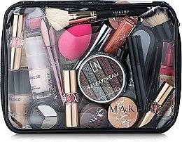 """Parfüm, Parfüméria, kozmetikum Neszeszer, átlátszó (kozmetikumok nélkül) """"Visible Bag"""" 25x18x8cm - MakeUp"""