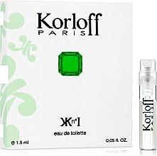 Parfüm, Parfüméria, kozmetikum Korloff Paris Kn°I - Eau De Toilette (teszter)