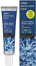 Parfüm, Parfüméria, kozmetikum Éjszakai arcmaszk - Tolpa Dermo Face Sebio Night Blocker Sebum Mask