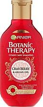Parfüm, Parfüméria, kozmetikum Sampon festett hajra - Garnier Botanic Therapy Argan Oil & Cranberry Shampoo