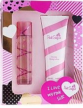 Parfüm, Parfüméria, kozmetikum Aquolina Pink Sugar - Szett (edt/100ml + b/lot/250ml)