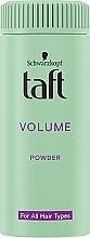 "Parfüm, Parfüméria, kozmetikum Hajformázó púder ""Dúsító"" - Schwarzkopf Taft Volumen Powder"