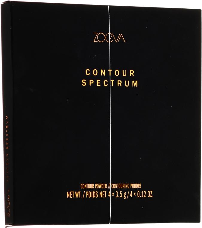 Kontóruzó paletta - Zoeva Contour Spectrum Contour Powder — fotó N2
