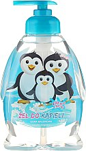 "Parfüm, Parfüméria, kozmetikum Gyerek tusfürdő ""Pingvin család"" - Chlapu Chlap Bath & Shower Gel"