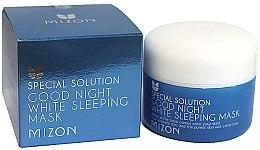 Parfüm, Parfüméria, kozmetikum Éjszakai világosító arcmaszk - Mizon Good Night White Sleeping Mask