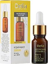 Parfüm, Parfüméria, kozmetikum Szérum arcra, nyakra és dekoltázsra - Delia Liposomal Vitamin C 100% Face Neckline Serum Anti Wrinkle Treatment