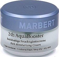 Parfüm, Parfüméria, kozmetikum Krém száraz arcbőrre - Marbert 24h Aqua Booster Moisturizing Cream For Dry Skin