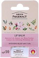 Parfüm, Parfüméria, kozmetikum Ajakápoló balzsam 5 féle olajjal - Green Pharmacy Lip Balm With 5 Oils SPF 10