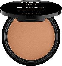 Parfüm, Parfüméria, kozmetikum Bronzosító púder matt - NYX Professional Makeup Matte Bronzer