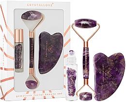 Parfüm, Parfüméria, kozmetikum Szett - Crystallove Amethyst Beauty Set