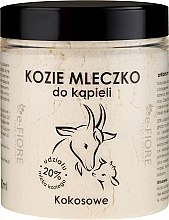 """Parfüm, Parfüméria, kozmetikum Kecske fürdőtej """"Kokúsz"""" - E-Fiore Coconut Bath Milk"""