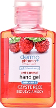 "Parfüm, Parfüméria, kozmetikum Kézfertőtlenítő gél ""Földi eper"" - Dermo Pharma Antibacterial Hand Gel"